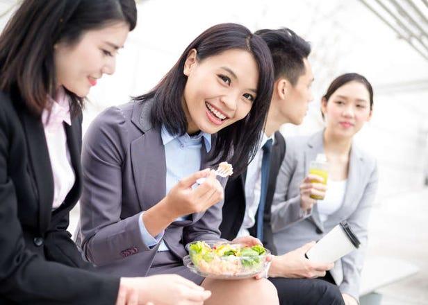 日本好奇妙!看似愛好團體行動的日本人,其實大部分的OL都一個人午餐!