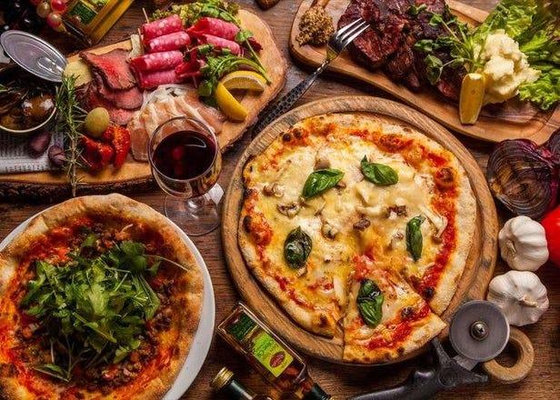 15种正宗披萨仅500日元!披萨&葡萄酒店在新宿开张啦