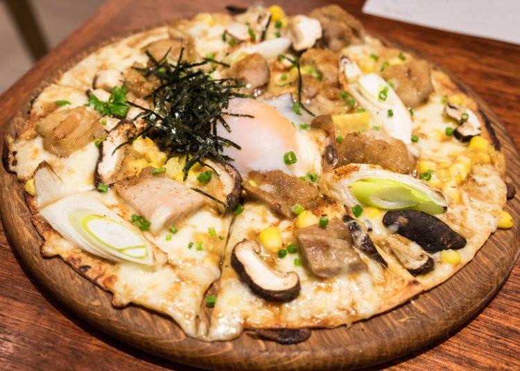 Teriyaki Chicken with Mayo Pizza