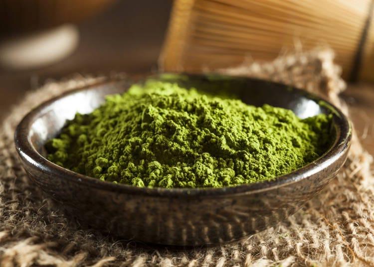 緑茶から抹茶へ