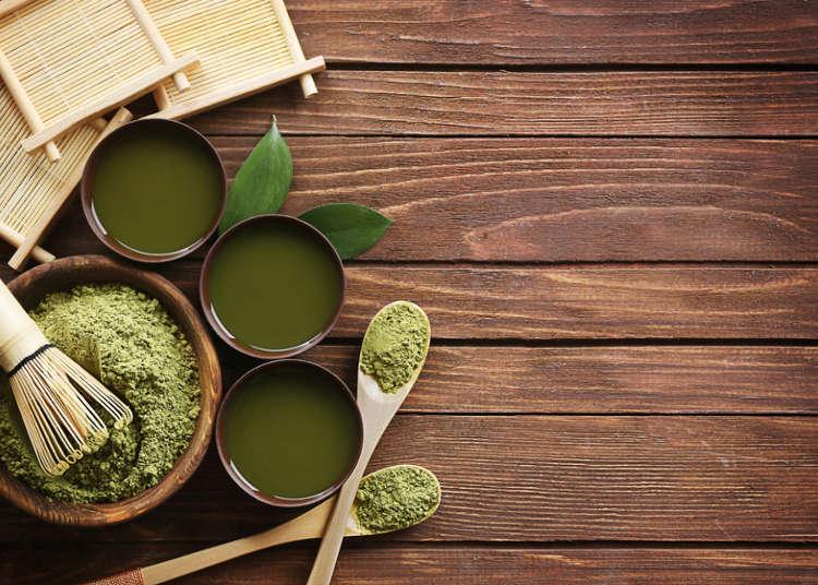 일본녹차는 녹차잎부터 시작된다!
