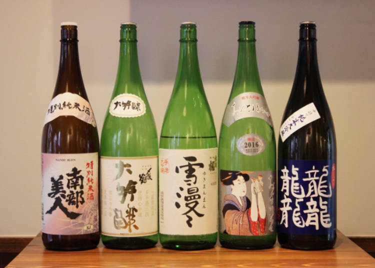 Five Distinctive Sake Specialties for Five Distinctive Nationalities