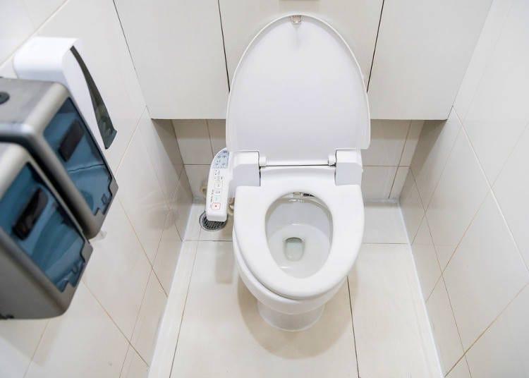 日本のトイレとウォシュレット