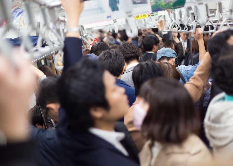 日本東京日常奇景「滿員電車」 LIVE JAPAN編輯部真實重現給你看!
