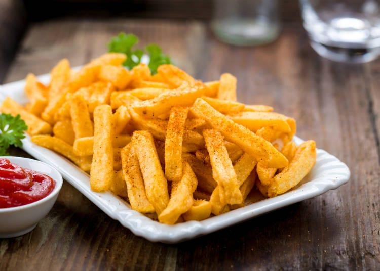 居酒屋必點菜單⑥薯條