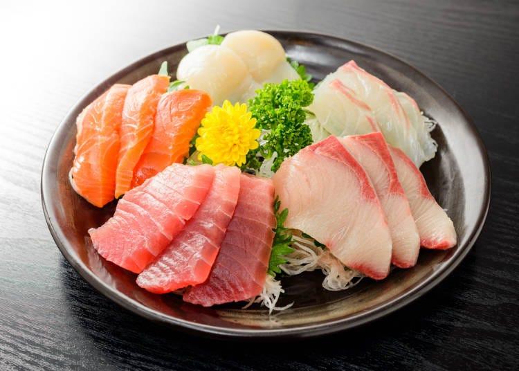 居酒屋必點菜單⑨生魚片