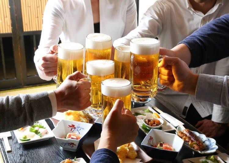 日本居酒屋文化「先來杯啤酒吧!」