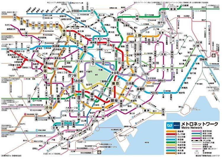 東京メトロー9つの路線をもつ地下鉄