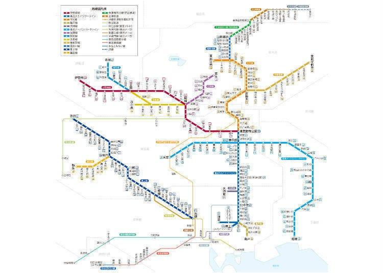 도부 철도-닛코 방면으로 이동 가능
