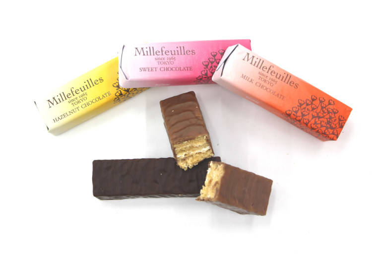 Berne mille-feuille 巧克力千層派