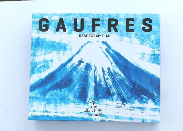 上野風月堂 法蘭酥( 富士山)