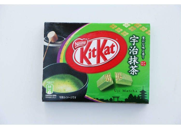 KIT KAT 巧克力 宇治抹茶口味