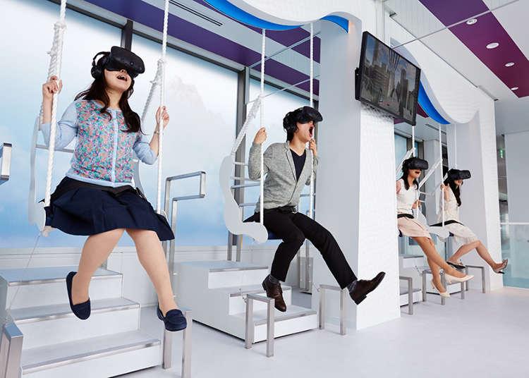 """东京都内和近郊的最新""""VR体验""""景点汇总介绍"""