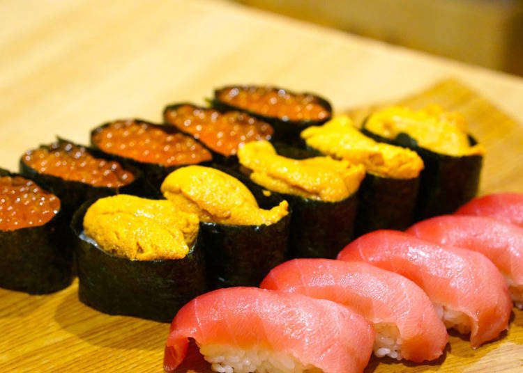 銀座で寿司食べ放題!高級寿司4000円など人気店を食べ比べ