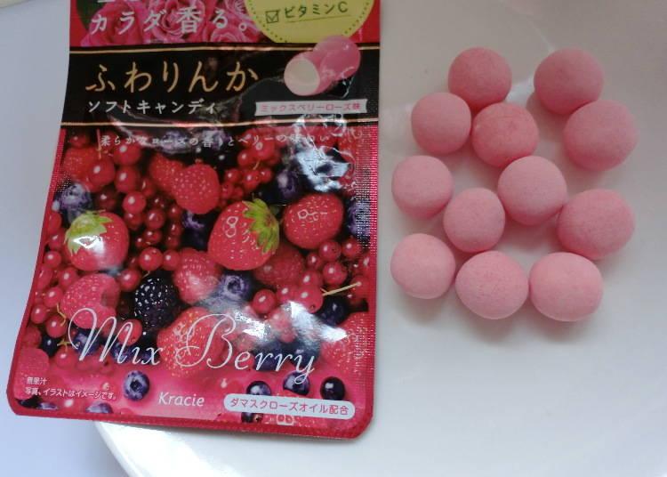 Kracie 玫瑰薔薇花香軟糖 莓果口味