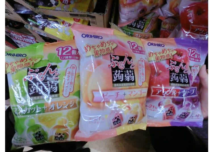 ORIHIRO 擠壓式蒟篛果凍