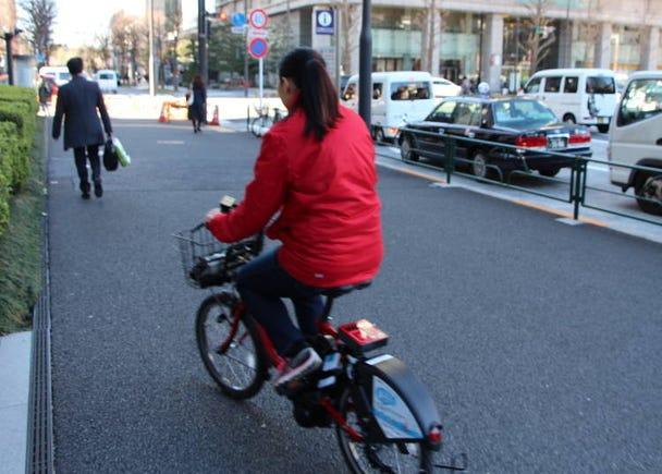 """""""Bike Share"""" in Tokyo ?"""