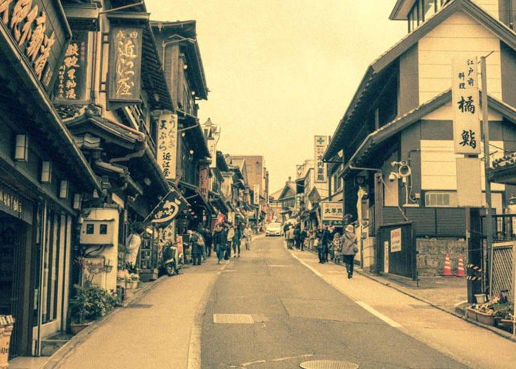 History of the Omotesando
