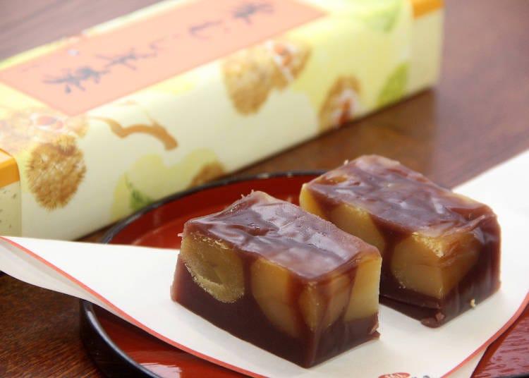양갱으로 유명한 '나고미노 고메야 총본점' 지바현의 다양한 화과자