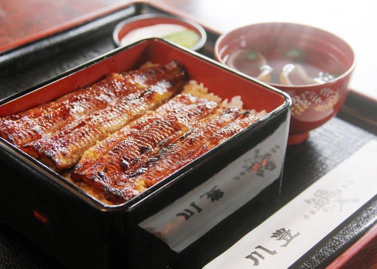 成田名產,嚐嚐老店「川豐」的秘傳醬汁鰻魚飯