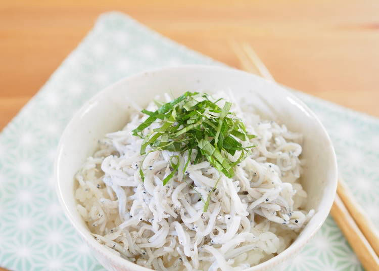 The most disliked food is shirasu: It looks scary and grotesque!