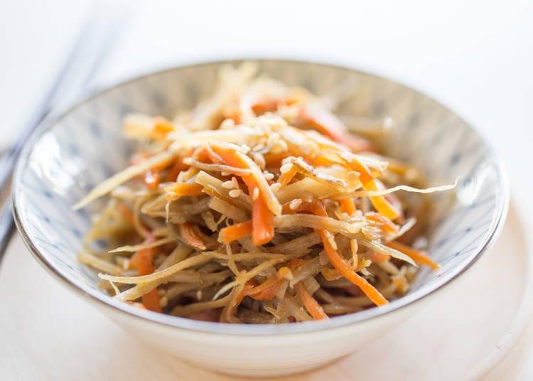 '긴피라고보우 (우엉조림)'은 일본의 건강식의 대표작?