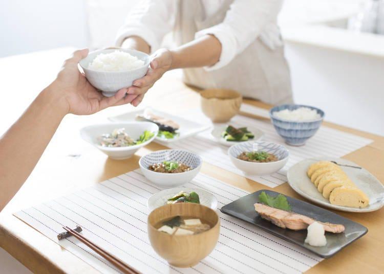 일본의 반찬이 맛있다고 말해줘서 고마워!