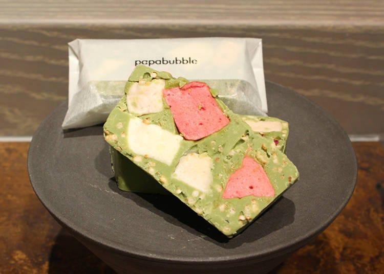 【Papabubble】「柚子抹茶Rocky Road」