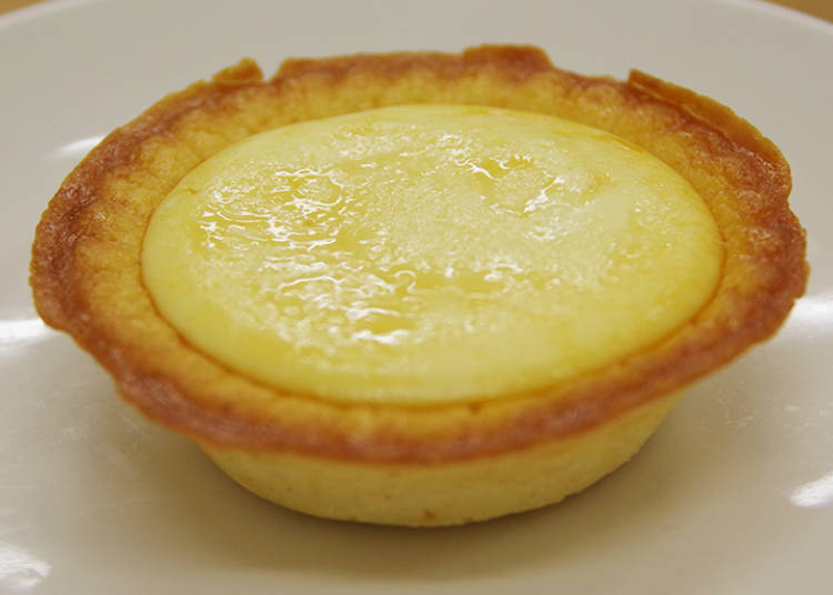 1. Thick baked cheese tart