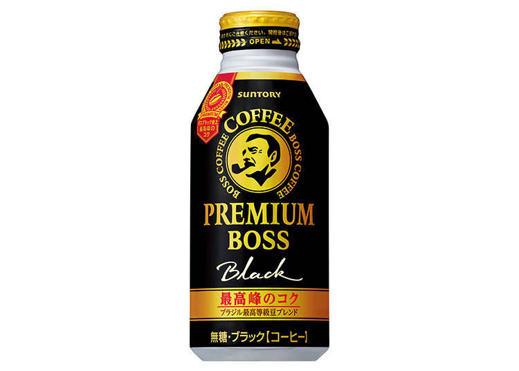Premium BOSS Black Coffee