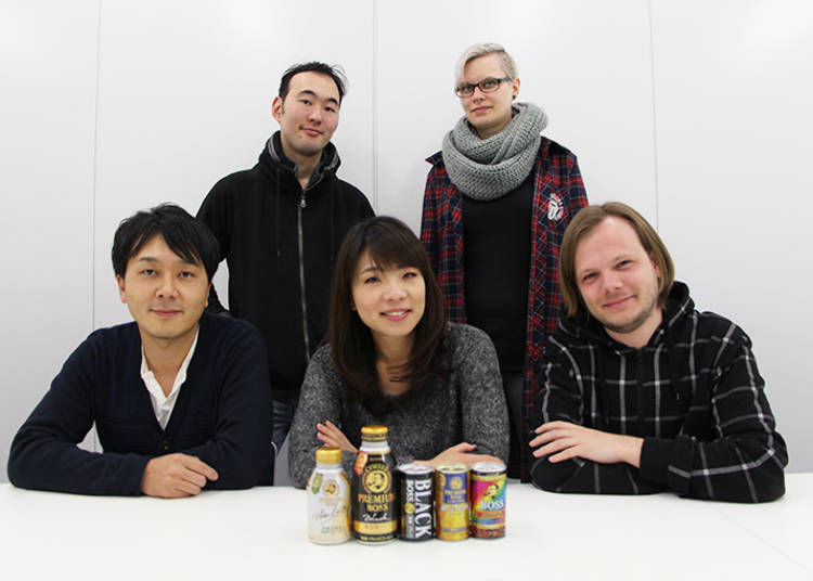 The Five Japanese Canned Coffee Taste Testers