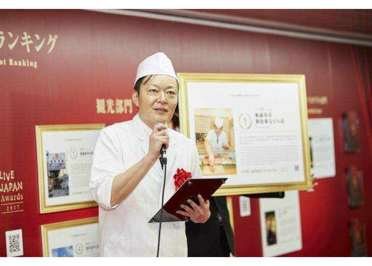 【美食部门】第一名 板前寿司 新宿东宝大厦店