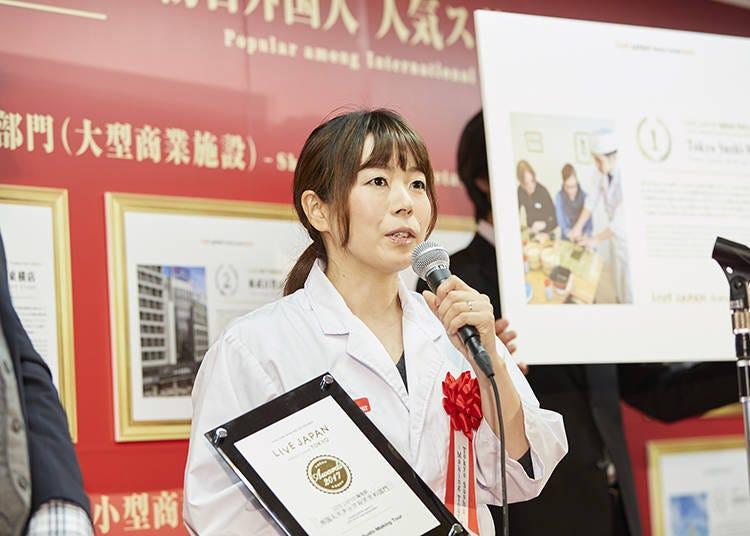 【LIVE JAPAN编辑部外国职员推荐部门】Tokyo Sushi-Making Tour