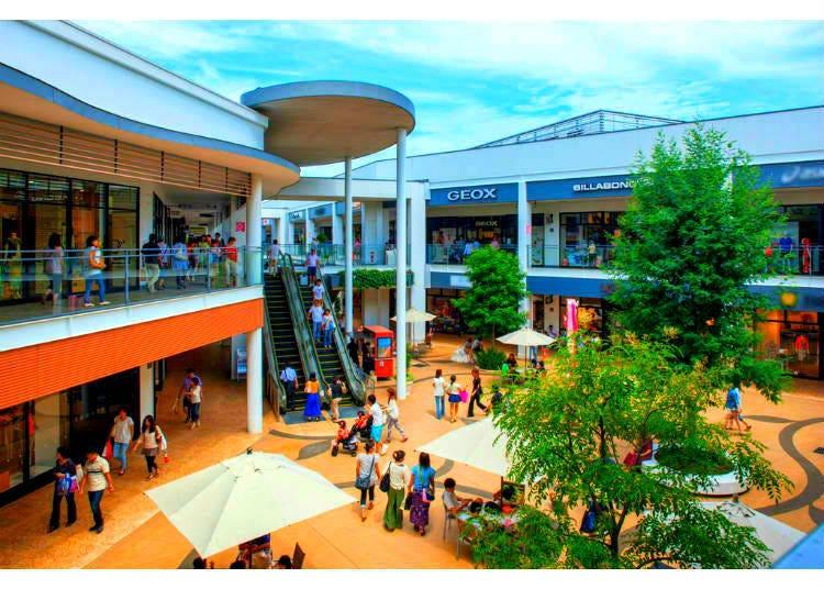 2. Mitsui Outlet Park Iruma: A Taste of Edo
