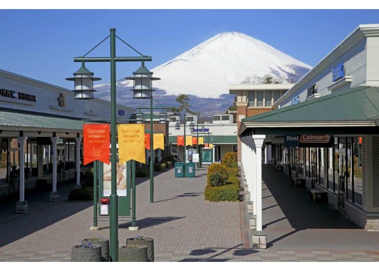 【靜岡縣】看得見富士山!鄰近溫泉街的御殿場PREMIUM OUTLETS