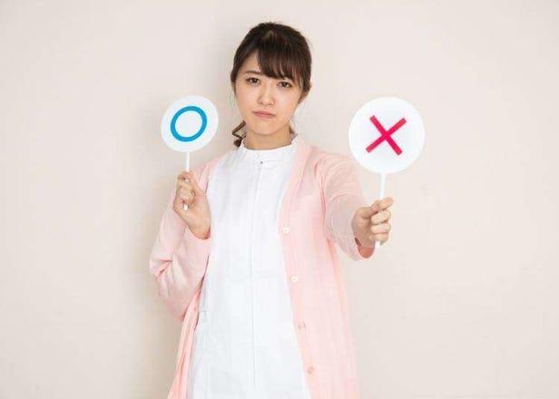 일본에서 다들 지켜야 한다고 생각하는 매너 9가지.