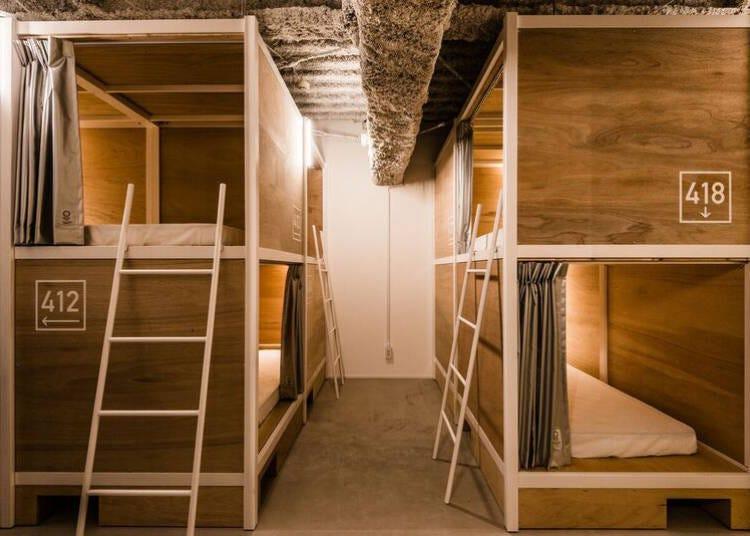프라이버시를 중시한 도미트리룸이 인기! 일본 재발견!「BUNKA HOSTEL TOKYO」