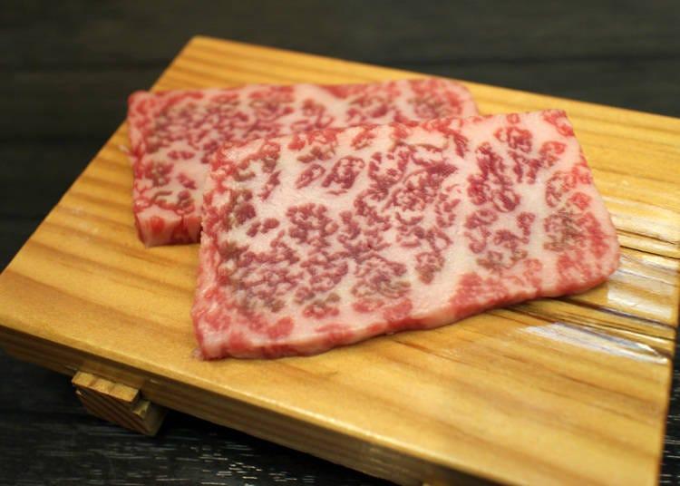 普段食べられないような高級肉を味わう