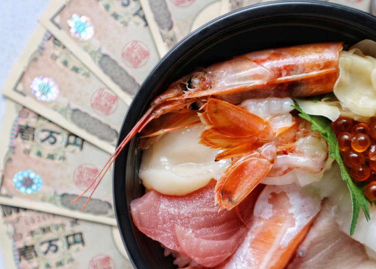 日本吃飯一天要花多少錢呢?日本旅遊前必知超「食」用預算資訊!