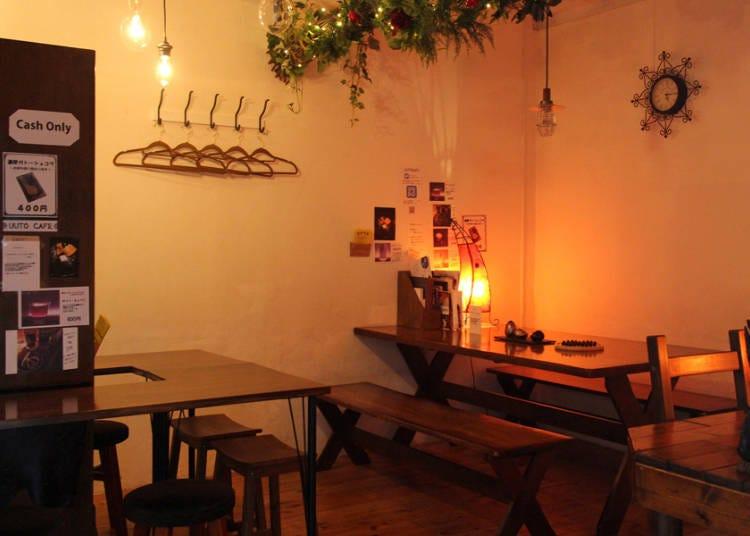 浅草観光の後に行きたい夜カフェ「UUTOCAFE」