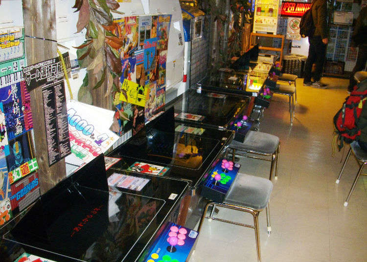 Top 5 Retro Game Stores in Akihabara: Japan Arcades and More