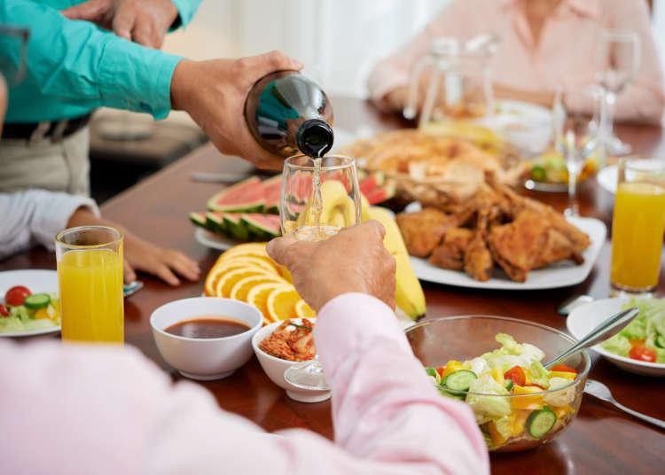 和日本人吃饭时你不可不注意的10项事