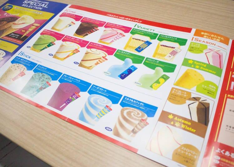 Popular flavor ranking for Seventeen Ice Cream
