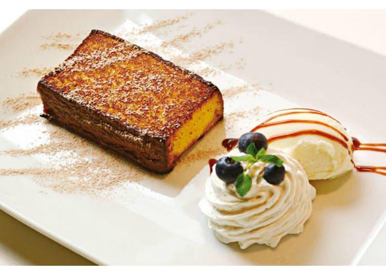 古老的和菓子店的蜂蜜蛋糕變身華麗甜點!