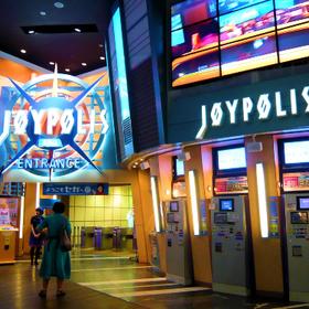 8% OFF E-Tickets to TOKYO JOYPOLIS in Odaiba Tokyo!