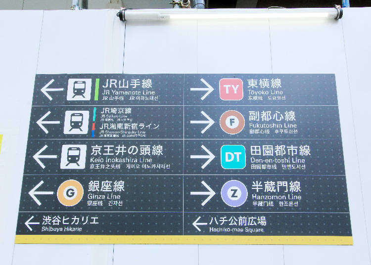 The Complete Guide to Shibuya Station - LIVE JAPAN