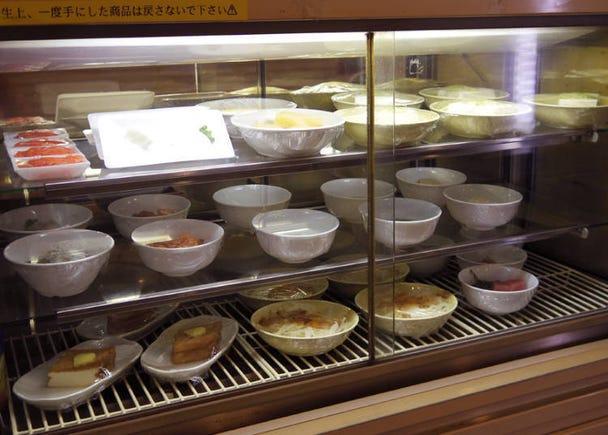 秋葉原「百飲」種類豐富的料理及多種自助服務