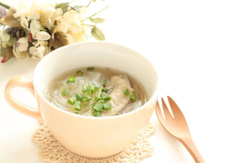 シンガポールの優しい春雨スープ