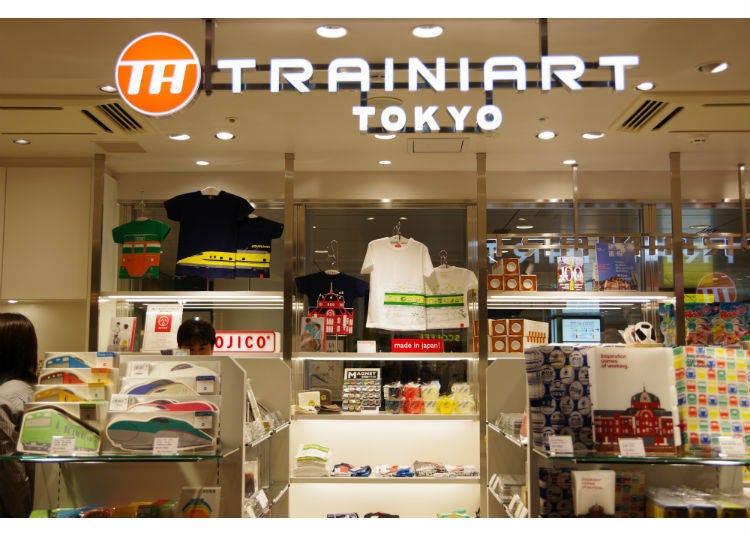 'TRAINIART TOKYO' 머그컵 도쿄역 마루노우치 역사/스노우볼/ Suica 펭귄 관련 상품