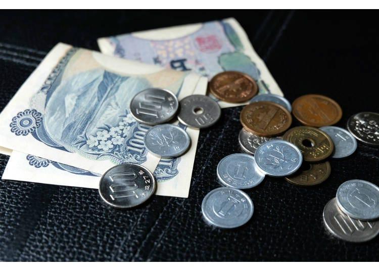 3)旅遊日本五天大概要帶多少錢?